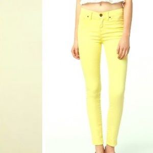 J. Crew Factory Ankle Toothpick Jeans
